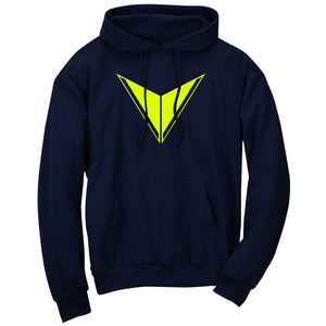 Graves Icon Hoodie - NYel on Nvy