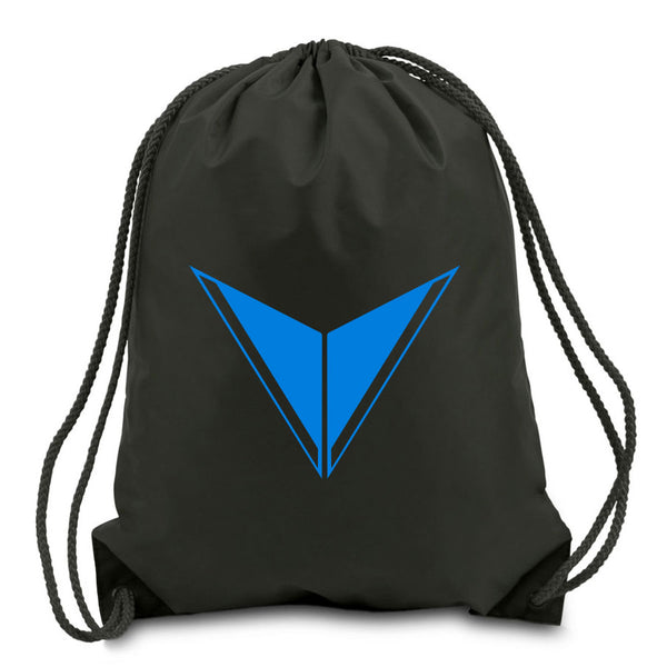 Graves Icon Cinch Bag - NBlu on Blk