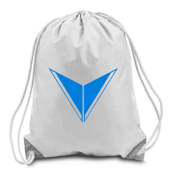 Graves Icon Cinch Bag - NBlu on Wht