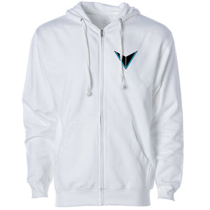 Graves Icon Heart FX Zip Up - Wht