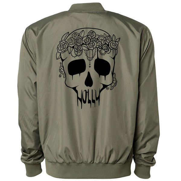 Holly Skull Bomber Jacket