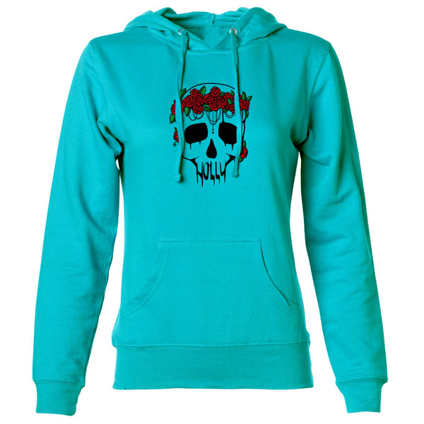 Holly Skull FX Girls Hoodie