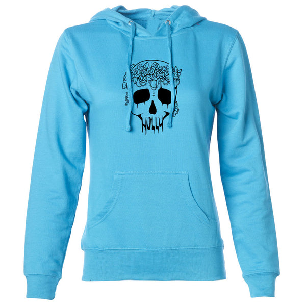 Holly Skull Girls Hoodie