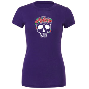 Holly Skull FX Girls Short Sleeve