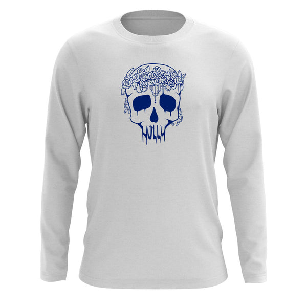 Holly Skull Long Sleeve