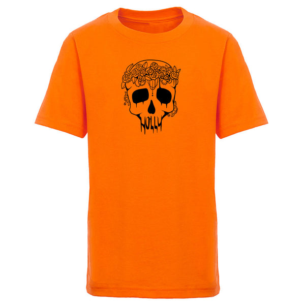 Holly Skull Youth Short Sleeve