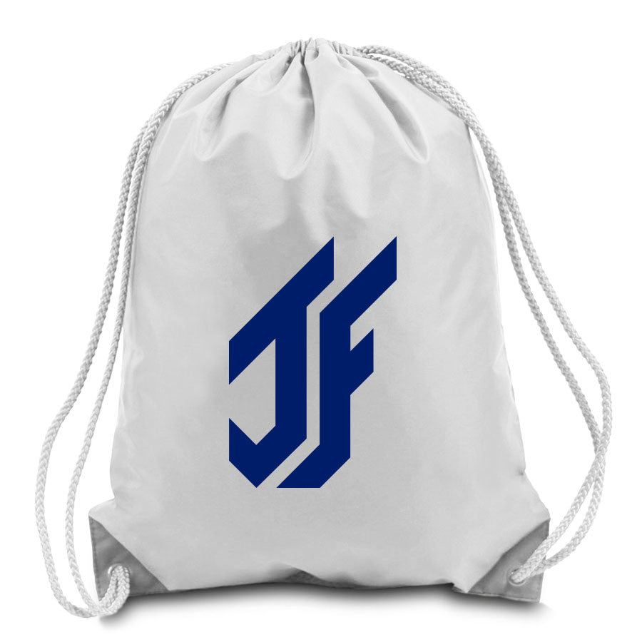 Jason Falco Icon Cinch Bag - Nvy on Wht