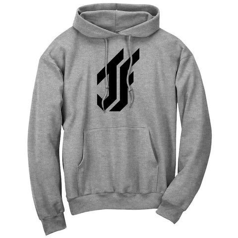 Jason Falco Icon Hoodie - Blk on SprtGry