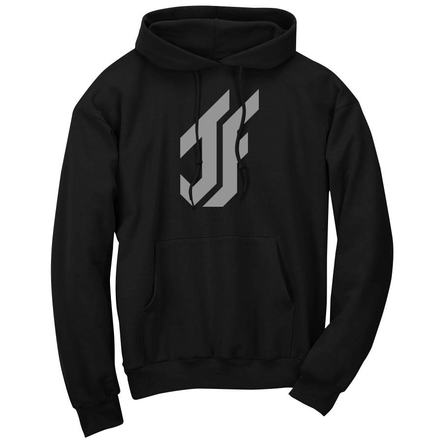 Jason Falco Icon Hoodie - Gry on Blk