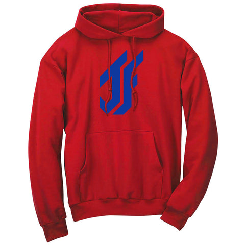 Jason Falco Icon Hoodie - Ryl on Red