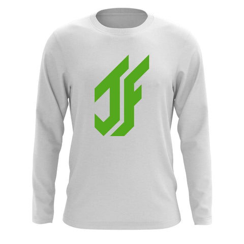 Jason Falco Icon Long Sleeve - Grn on Wht