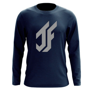 Jason Falco Icon Long Sleeve - Gry on Nvy