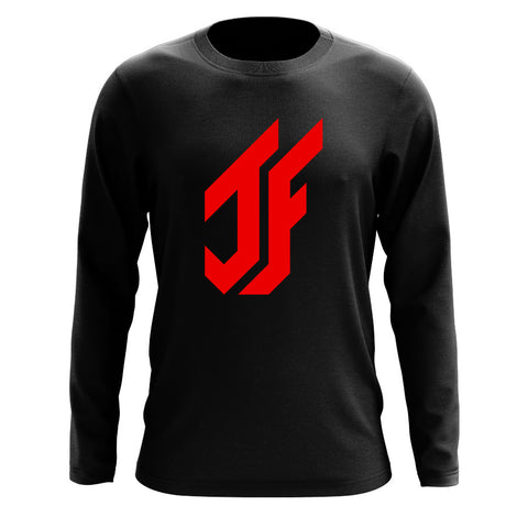 Jason Falco Icon Long Sleeve - Red on Blk