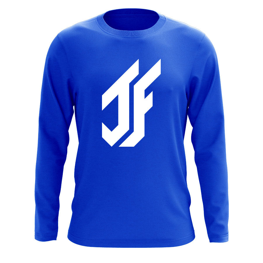 Jason Falco Icon Long Sleeve - Wht on Ryl