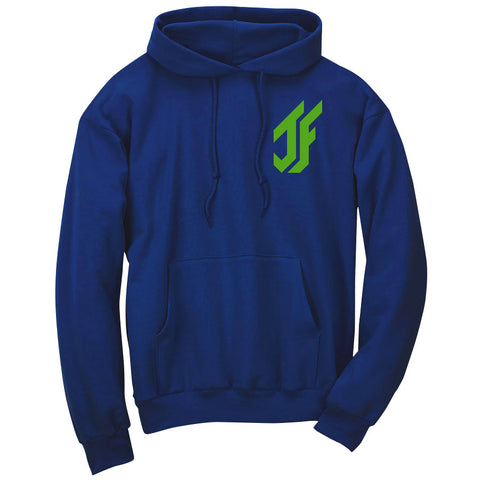 Jason Falco Icon Heart Hoodie - Grn on Ryl