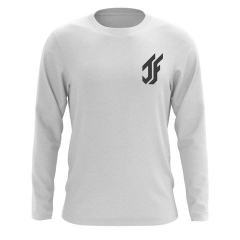 Jason Falco Icon Heart Long Sleeve - DGry on Wht