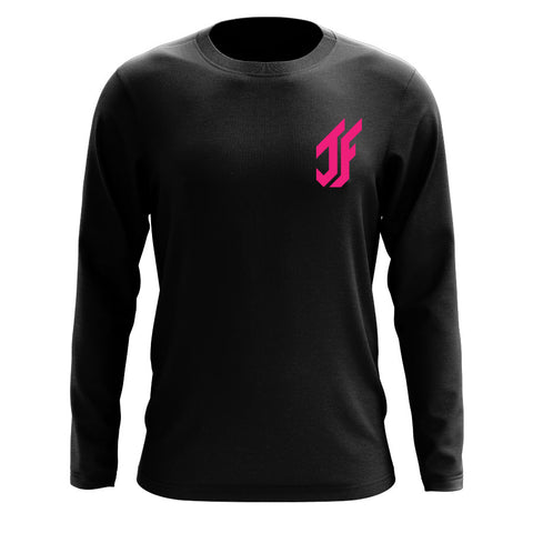 Jason Falco Icon Heart Long Sleeve - NPnk on Blk