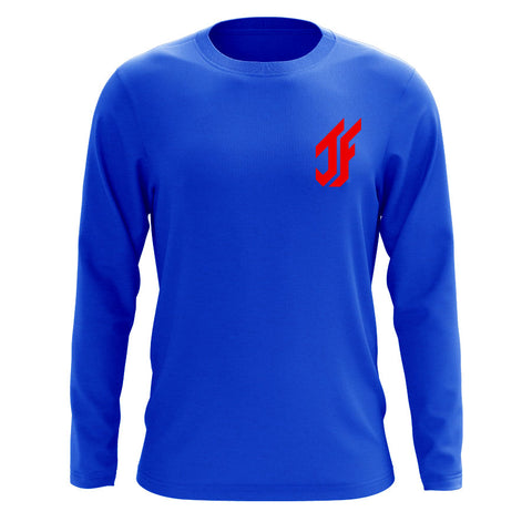 Jason Falco Icon Heart Long Sleeve - Red on Ryl