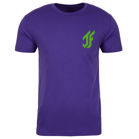 Jason Falco Icon Heart Short Sleeve - Grn on Prp