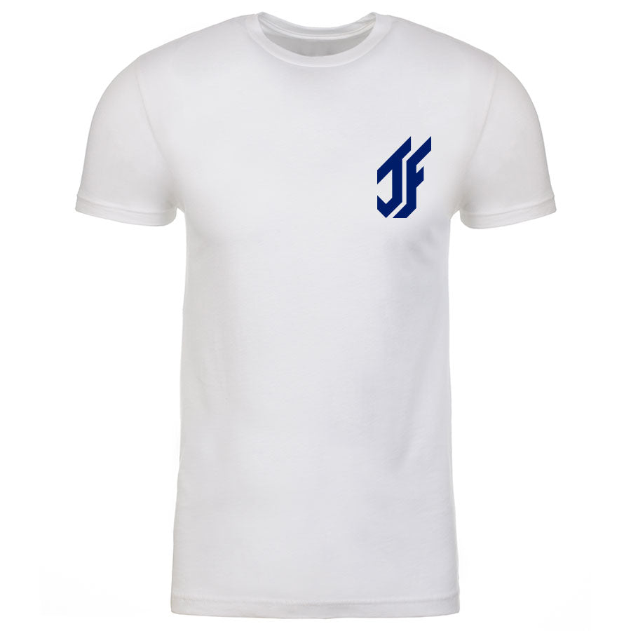 Jason Falco Icon Heart Short Sleeve - Nvy on Wht