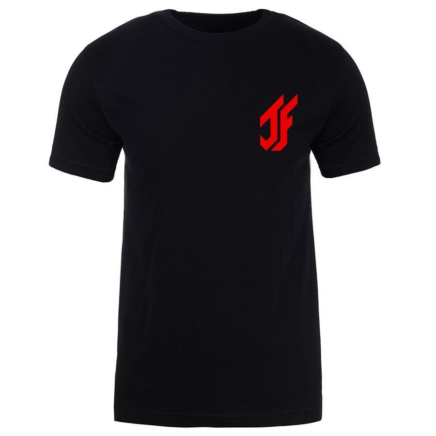 Jason Falco Icon Heart Short Sleeve - Red on Blk