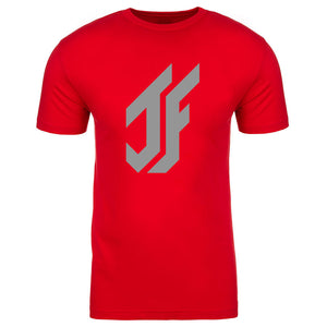 Jason Falco Icon Short Sleeve - Gry on Red