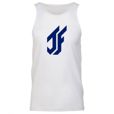 Jason Falco Icon Tank Top - Nvy on Wht
