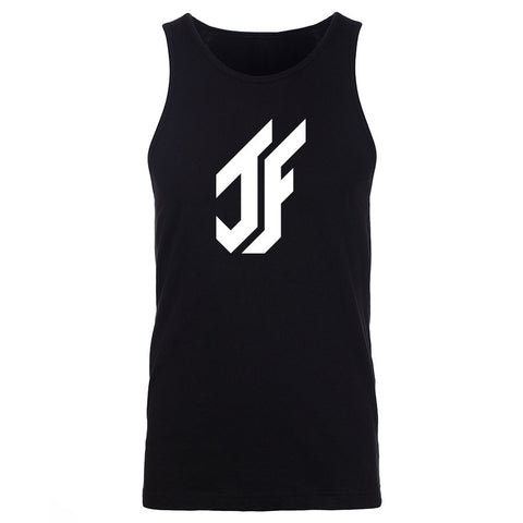 Jason Falco Icon Tank Top - Wht on Blk