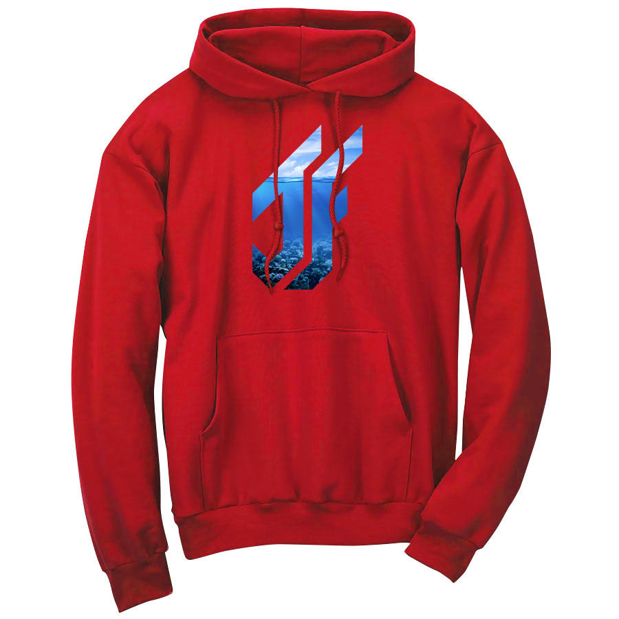 Jason Falco Reef FX Hoodie - Red