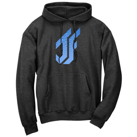 Jason Falco Droplets FX Hoodie - ChclHthr