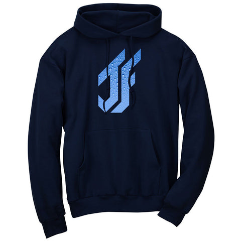 Jason Falco Droplets FX Hoodie - Nvy
