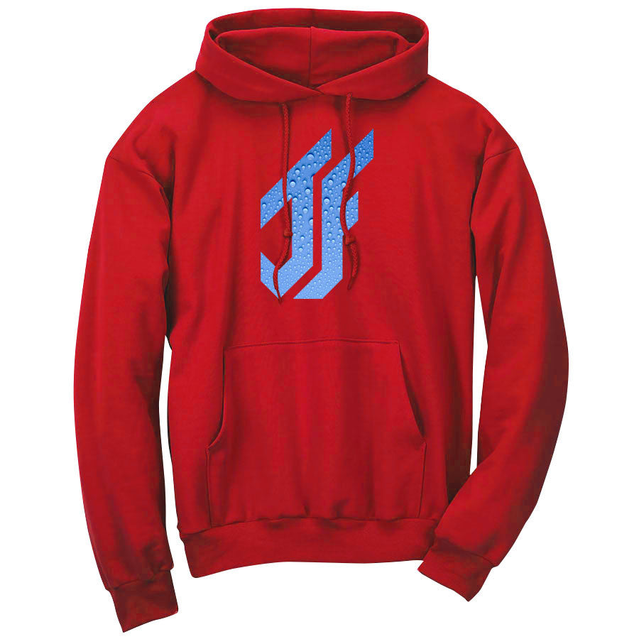 Jason Falco Droplets FX Hoodie - Red