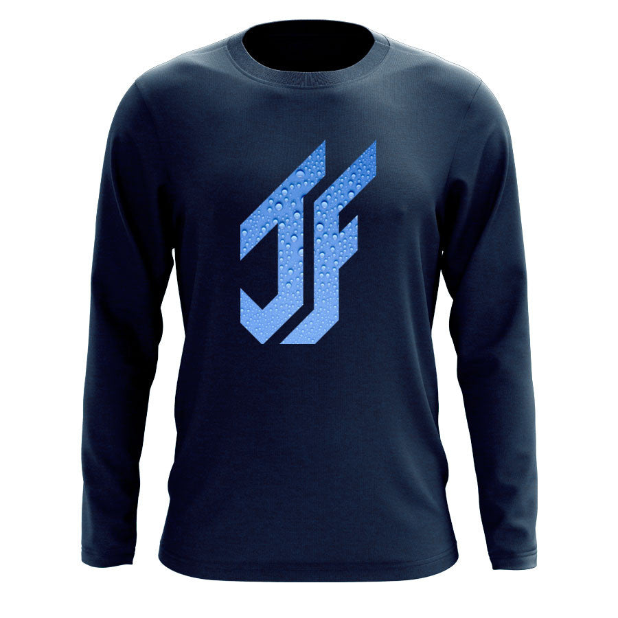Jason Falco Droplets FX Long Sleeve - Nvy