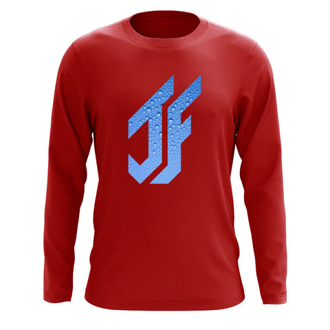 Jason Falco Droplets FX Long Sleeve - Red