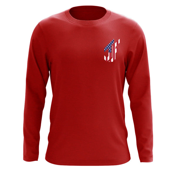 Jason Falco Flag Heart FX Long Sleeve