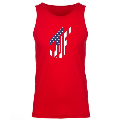 Jason Falco Flag FX Tank Top - Red