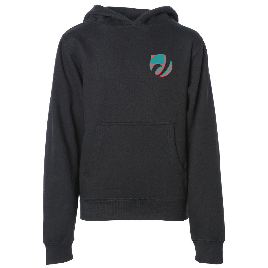 Jev 3D Heart FX Youth Hoodie