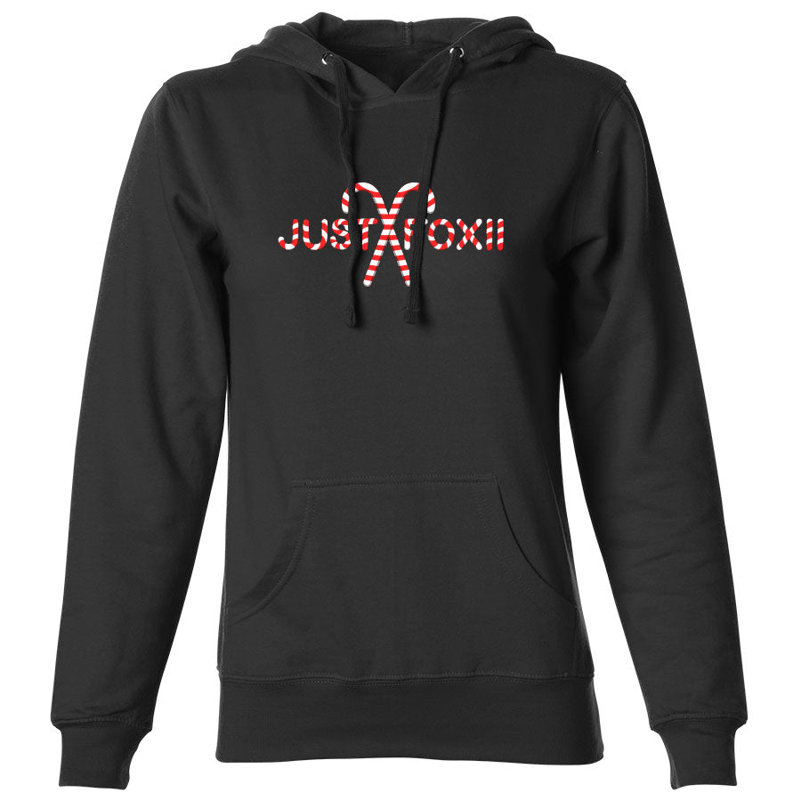 justfoxii Candy Cane FX Girls Hoodie