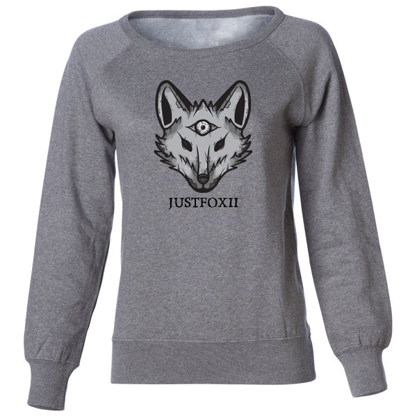 justfoxii Icon FX Girls Crewneck