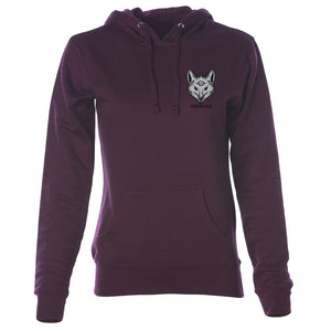 justfoxii Icon Heart FX Girls Hoodie