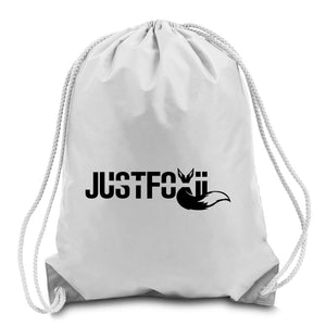 justfoxii Logo Cinch Bag