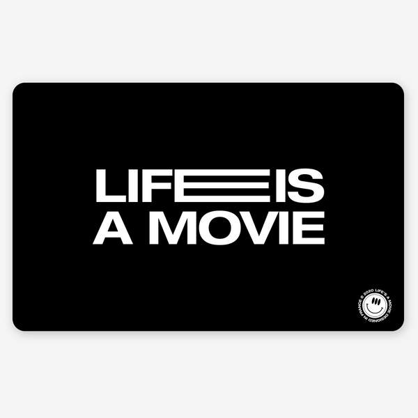 Melt Mousepad - Life is a Movie