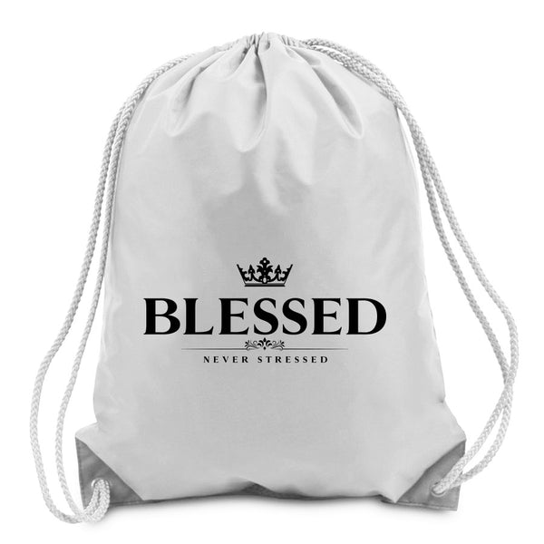 Mocha Blessed Cinch Bag