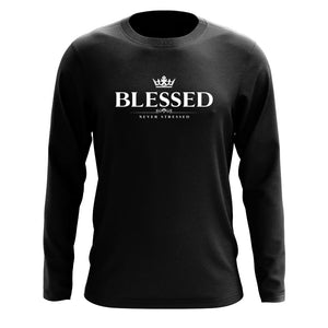 Mocha Blessed Long Sleeve