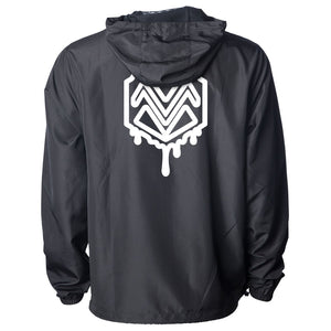 Mocha M Heart Combo Lightweight Windbreaker