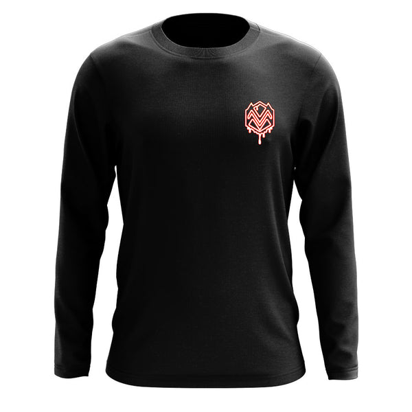Mocha M Heart FX Long Sleeve
