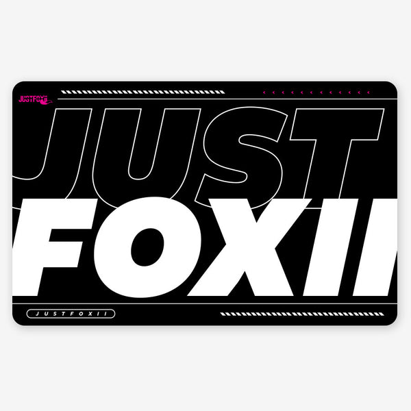 JustFoxii Mousepad - Forward