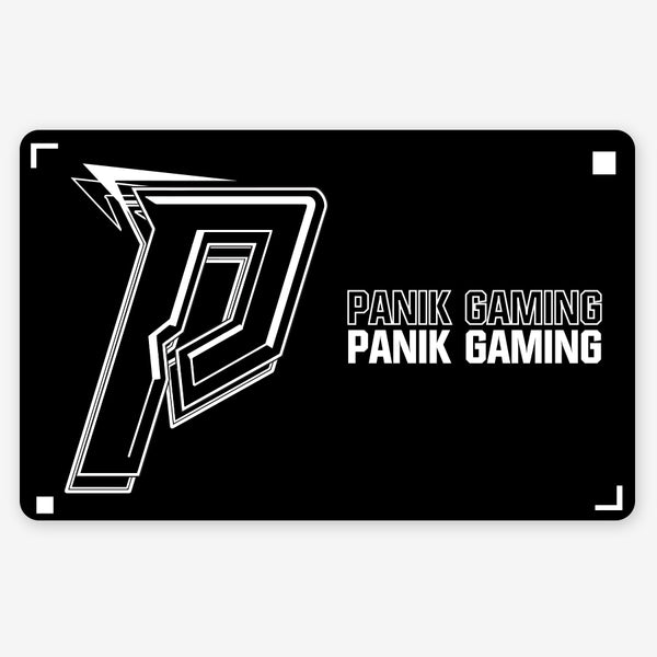 Panik Gaming Mousepad - Layout