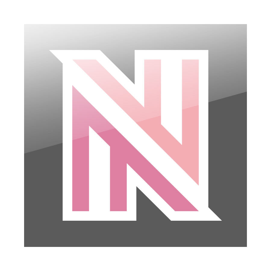 "NuFo 7"" Vinyl Sticker - Icon FX Wht"