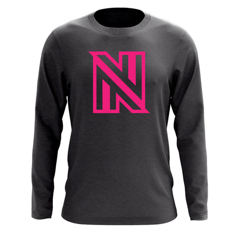 NuFo Icon Long Sleeve - NPnk on Chcl